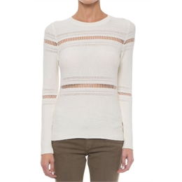Blusa Bridger off-white CAROL BASSI