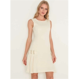 Vestido Audrey Off-white LAFORT