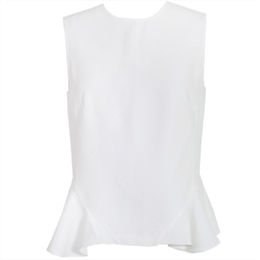 Blusa Berkeley Off-white CAROL BASSI