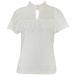 Blusa New Haven Off-white </br><b>CAROL BASSI</b>
