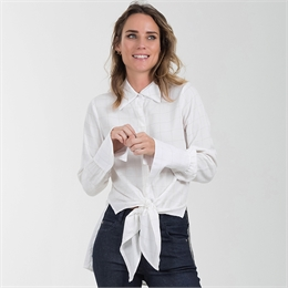 Camisa Nó Xadrez Off-white </br><b> J.CHERMANN </b>