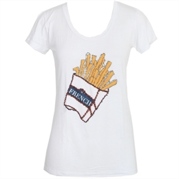 Camiseta French Fries J.CHERMANN