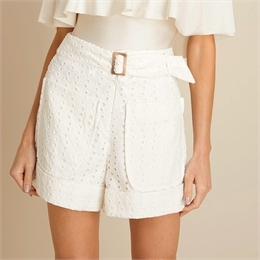 Short Laise Cinto Off-white </br><b>IORANE</b>