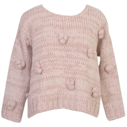 Blusa Valley Tricot Nude CAROL BASSI
