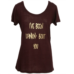 T-shirt Drinking Vinho J.CHERMANN