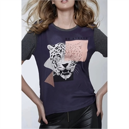 T-shirt Be Strong Tuna ANIMALE