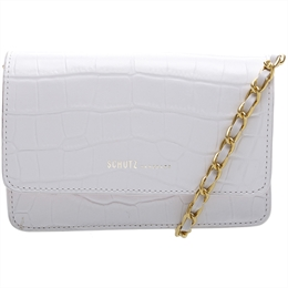 Minibag Crossbody 4 Girls Lorena Croco Branca SCHUTZ