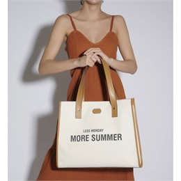 Bolsa Less Monday More Summer Caramelo SCHUTZ