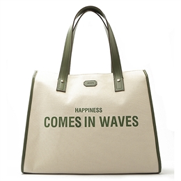 Bolsa Happiness Comes In Waves Verde SCHUTZ