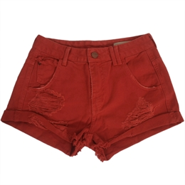 Shorts Stone Color Vermelha ANIMALE