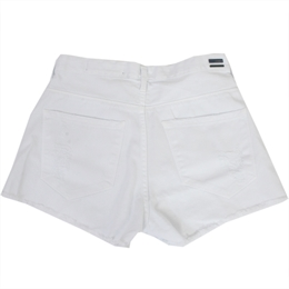 Shorts Deslocado Barra Branco ANIMALE