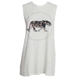 Regata Cavada Tiger Off-white ANIMALE