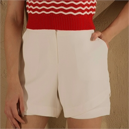 Shorts Crepe Off-white IORANE