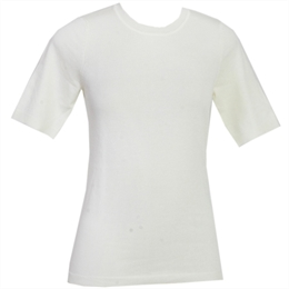 T-shirt Básica Tricot Off-white ANIMALE