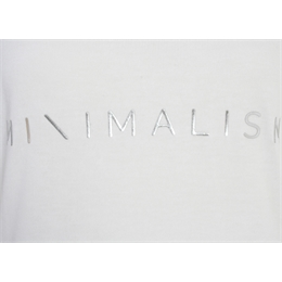 T-shirt Minimalism Off-white LAFORT