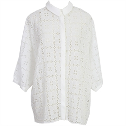 Camisa Juliana Rechilieu Off-white