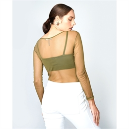 Top Livia Liso Verde LAFORT