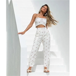 Calça Jogger Mini Bouquet IORANE