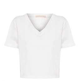 Blusa Chiloe off-white CAROL BASSI