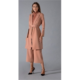 Trench-coat nude IORANE