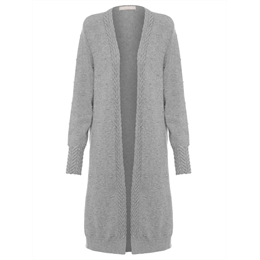 Cardigan trench mescla